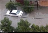 قصه پرتکرار آبگرفتگی معابر در خوزستان پس از بارش باران / مُسکن تعطیلی مسئولان دیگر جواب نمیدهد+فیلم