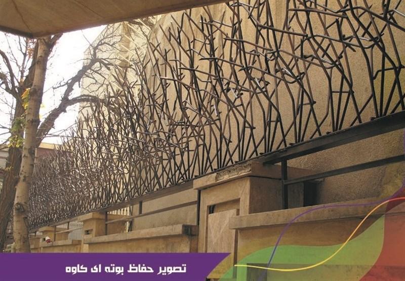 خرید درب آکاردئونی و نرده راه پله از شرکت صنایع فلزی کاوه