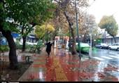 بارش باران پاییزی در کرج به روایت تصاویر