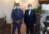 دیدار صیامی با رئیس کمیته ملی المپیک