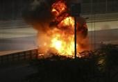 حادثه وحشتناک در فرمول یک بحرین + عکس