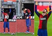 درآمدزایی باشگاه آرژانتینی به لطف ادای احترام خلاقانه مسی به مارادونا