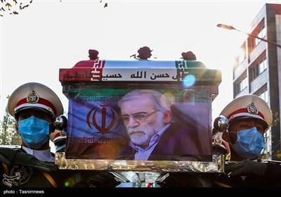 در سوگ فخر علمی ایران  داغ سنگین مردم دماوند از ترور دانشمند هستهای ایران/قطعا انتقام سختی از دشمن گرفته میشود+فیلم
