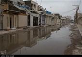 دلهره شهروندان جنوبیترین منطقه قزوین / با هر بارش باران سیلاب فاضلاب زندگی مردم را نابود میکند+فیلم