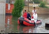 آبگرفتگی در خوزستان + تصاویر