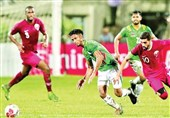 حضور تماشاگران در دیدار قطر و بنگلادش