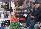 روزگار پریشان دستفروشان گیلان ـ 1| خبرنگار تسنیم پای سفره دل دستفروشان / صداهایی که کمتر شنیده میشود + فیلم