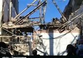 جسد مرد 50 ساله از زیر آوار منزل منفجر شده در خرمآباد بیرون کشیده شد