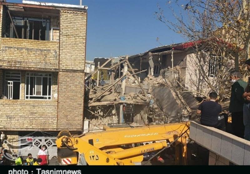 عملیات آواربرداری انفجار واحد مسکونی خرمآباد پایان یافت؛ 2 نفر کشته شدند