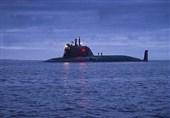 """پرتاب موفق موشک """"اونیکس"""" از عرشه زیردریایی اتمی """"قازان"""" روسیه"""