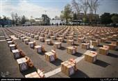 """در طرح پویش"""" همپای اربعین"""" 1000 جفت کفش بین نیازمندان کهگیلویه و بویراحمد اهدا شد"""