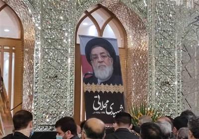 حجت الاسلام شهیدی در حرم حضرت عبدالعظیم (ع) به خاک سپرده شد