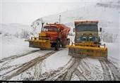 جادههای مواصلاتی استان مازندران برفی است/ پرهیز از ترددهای غیرضروری