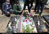 فرمانده قرارگاه خاتمالانبیاء(ص) به مقام شامخ شهید سلیمانی ادای احترام کرد + تصاویر