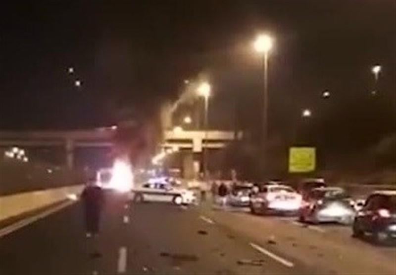 انفجار یک خودرو در جنوب تل آویو