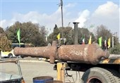 امکان انتقال توپ جنگی کشف شده در ضایعات ذوبآهن به لنجان وجود دارد