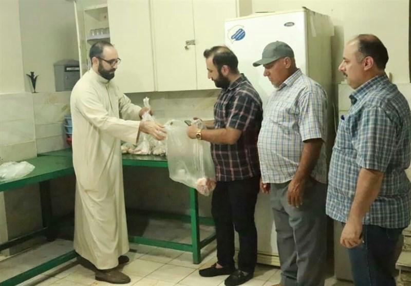 جهاد جوانان مسجد ثارالله در مبارزه با کرونا ادامه دارد/ کمک به محرومان، دغدغه امام جماعت جهادی