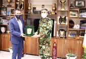 دیدار رئیس فراکسیون ورزش و جوانان با رئیس سازمان تربیت بدنی ارتش