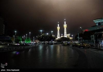 منع تردد شبانه در مشهد