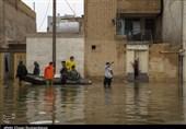 هلال احمر خوزستان به بیش از 6 هزار نفر دچار آبگرفتگی امدادرسانی کرد
