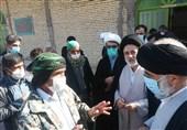 نماینده ولیفقیه در خوزستان از روستاهای بخش دهدز بازدید کرد؛ آبفا مسئله انتقال آب به روستاهای این بخش را پیگیری کند