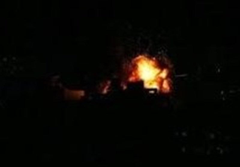 انفجار مهیب در اردوگاه نظامی ائتلاف سعودی در شرق یمن