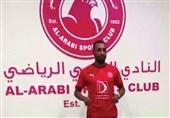 مدافع الجزایری هم بازی ترابی و محمدی در العربی