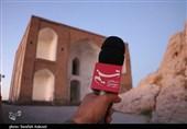 """""""تخت درگاه قلی بیگ"""" در معرض ویرانی/ فریاد رسانهها هم مسئولان استان کرمان را از خواب غفلت بیدار نکرد + فیلم"""