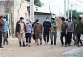روایتی از حضور جهادی مداحان در مناطق سیلزده خوزستان + فیلم