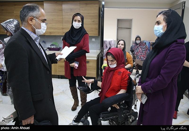 حمایت خیرین برای ترخیص معلولان از یک مرکز نگهداری و تأمین مسکن آنها