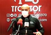 منصوریان: در ورزشگاه یادگار امام (ره) ما بیشتر از حریف تحت فشار بودیم/ امیدوارم دیدارمان با فولاد حاشیه نداشته باشد