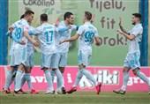 لیگ برتر کرواسی| پیروزی پُرگل دینامو زاگرب در غیاب محرمی