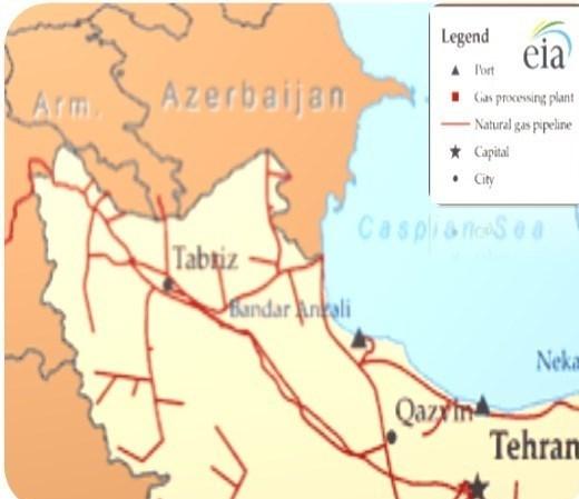 صادرات گاز ایران , جنگ خاموش ,