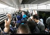 پیش از ورود به مترو از میزان ازدحام در قطارها مطلع شوید