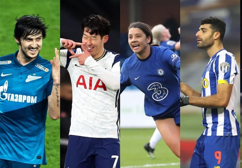 ۴ مهاجم ایرانی نامزد عنوان بهترین لژیونر هفته فوتبال آسیا