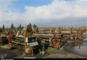 وضعیت اسفناک پرچمدار صنعت نساجی کشور / تخریب کارخانجات نساجی گیلان با بیتدبیری و ناکارآمدی مدیران + تصاویر