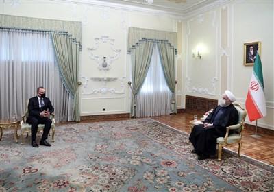 وزیر خارجه آذربایجان با روحانی دیدار کرد