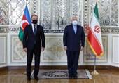 گزارش توئیتری ظریف از گفتگو با وزیر امور خارجه جمهوری آذربایجان
