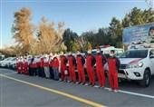 نیروهای هلال احمر مبادی ورودی مسافری کشور را در نوروز 1400 کنترل و غربالگری میکنند