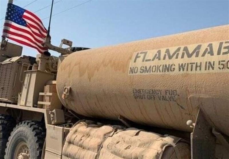 سرقت نفت جزیره سوریه توسط اشغالگران آمریکایی