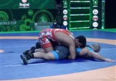 Asian Olympic Qualifying: Geraei, Saravi Take Gold Medals