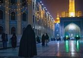 بانوی آلمانی در حرم رضوی به دین مبین اسلام مشرف شد