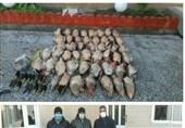 دستگیری قاچاقچی لاشه بیش از 40 پرنده مهاجر در میانکاله