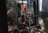 تهران آتشسوزی بامدادی در برج مسکونی+ تصاویر