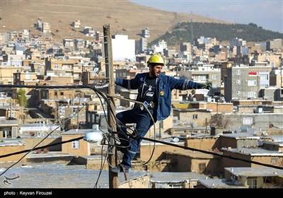 پروژههای شرکت برق استان کردستان