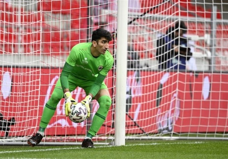 Beiranvand Records Second Successive Clean Sheet