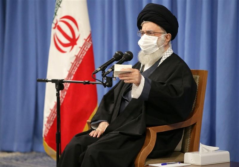 2 تذکر مهم و جالب رهبر انقلاب به روحانی در سخنان دیروز/رفع تحریمها یک روز نه، 4 سال عقب افتاده!