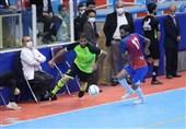 لیگ برتر فوتسال  تیم فردوس قم برابر نماینده قزوین شکست خورد