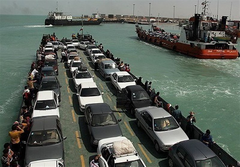 دستور رئیس دادگستری هرمزگان برای کاهش 40 درصدی عوارض حمل خودرو از اسکله بندر پُهل به قشم 