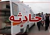 حادثه رانندگی در محور کرمان- راور اعضای یک خانواده 4 نفره را به کام مرگ کشاند